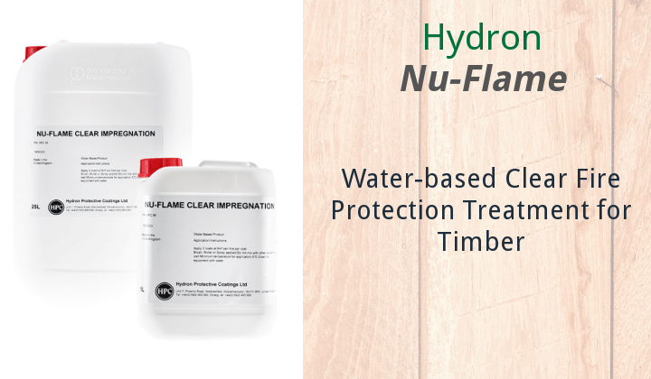 Hydron Nu-Flame Clear Timber Impregnation
